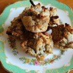 apple & date mini muffins