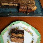 Choc PB brownie
