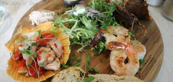 Winters Seafood Tasting Plate