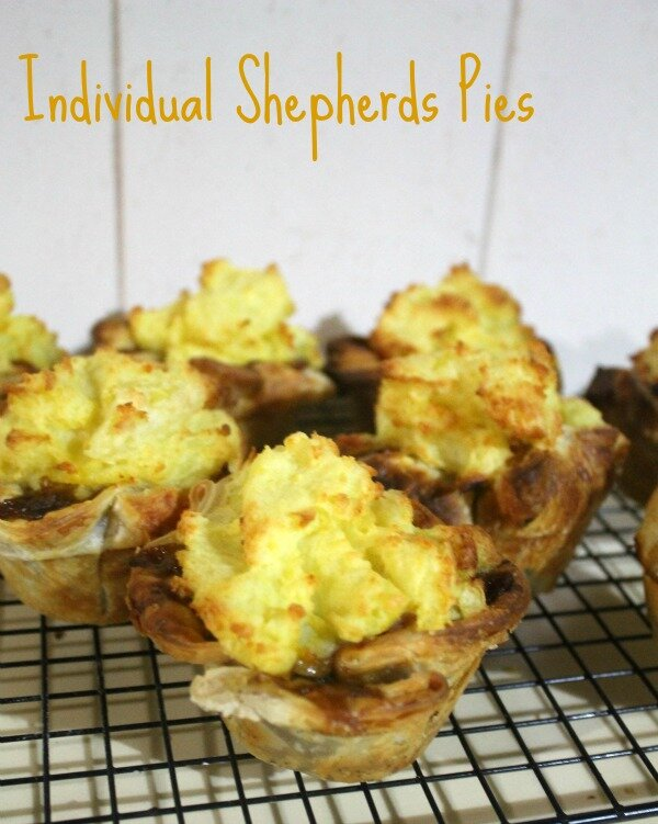 Individual Shepherds Pies