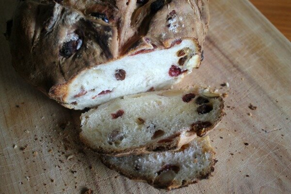 Ginger Beer and Honey Sourdough Fruit Loaf