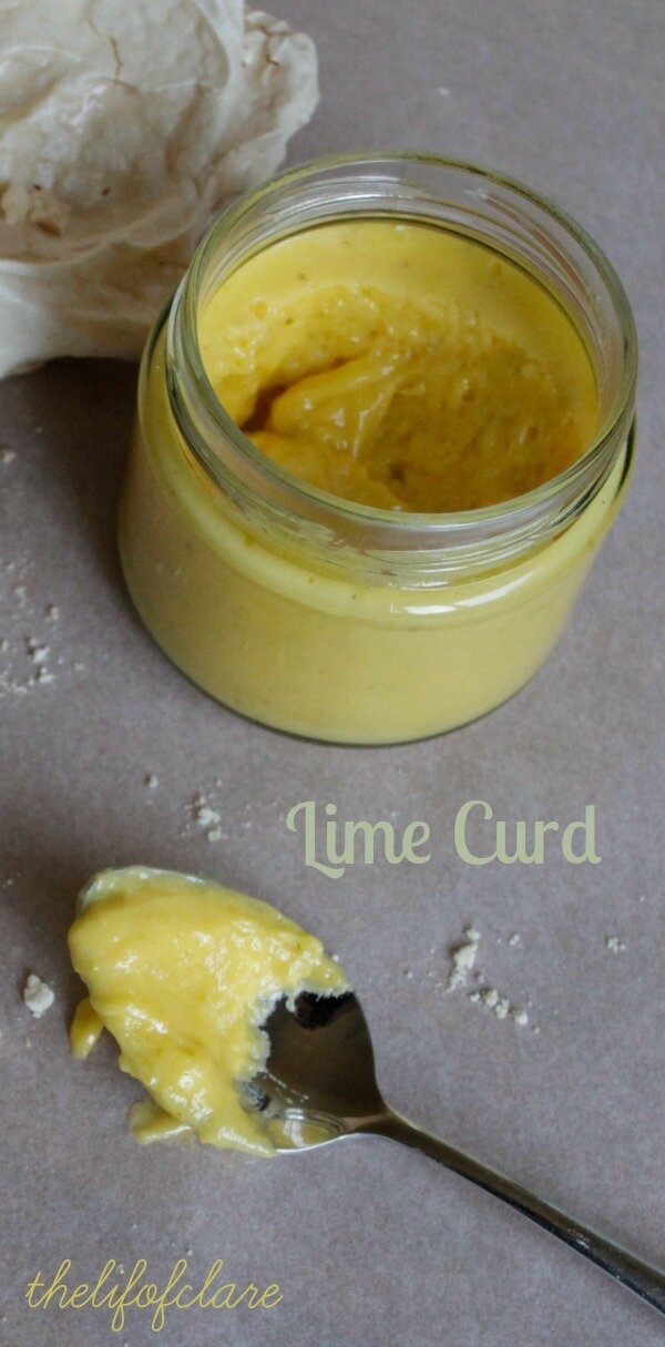 Lime Curd - The Life of Clare