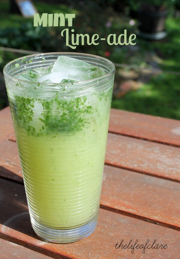mint lime-ade