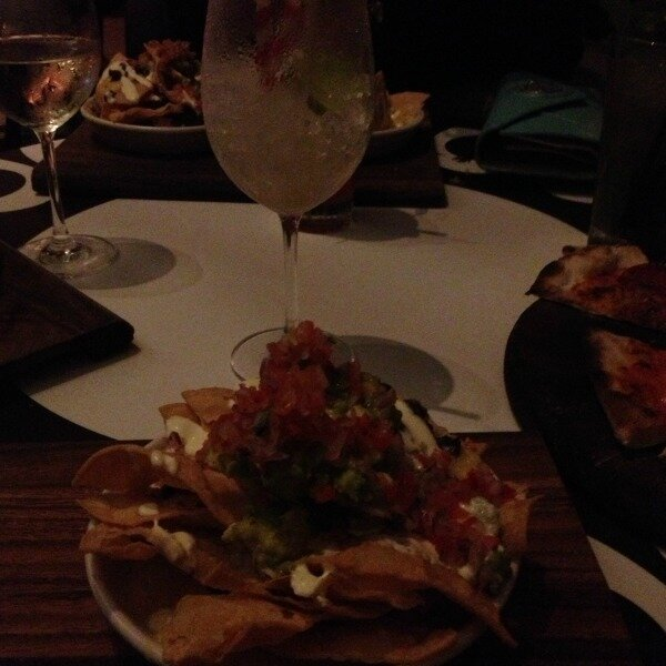 nachos and mocktails