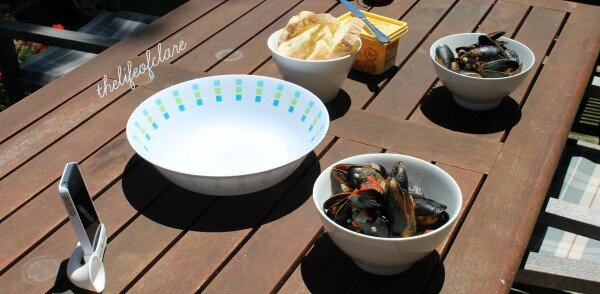 lunch mussels