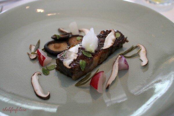 Brae Restaurant waygu
