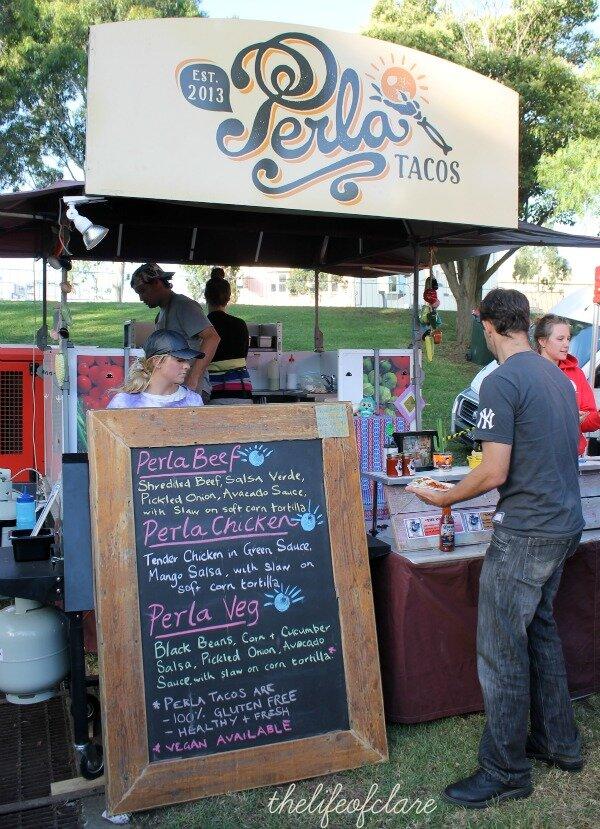 Perla Tacos NightJar market