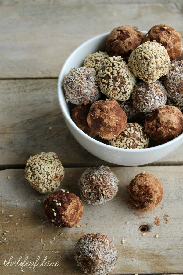 seed and dried fruit balls
