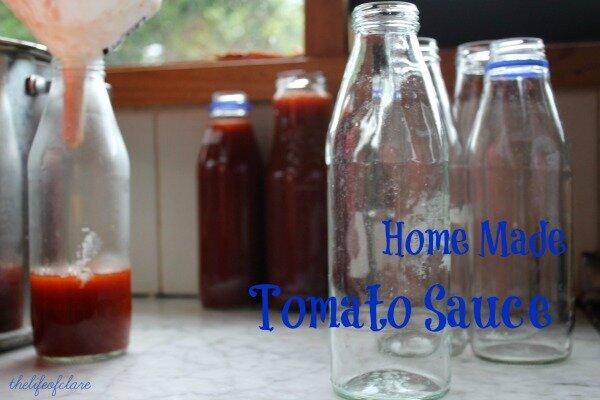 Home Made Tomato Sauce