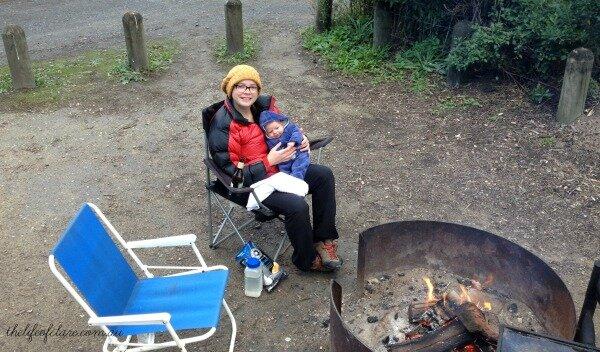 E first campfire