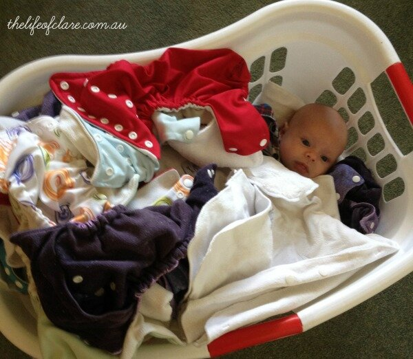 cloth nappy washing basket