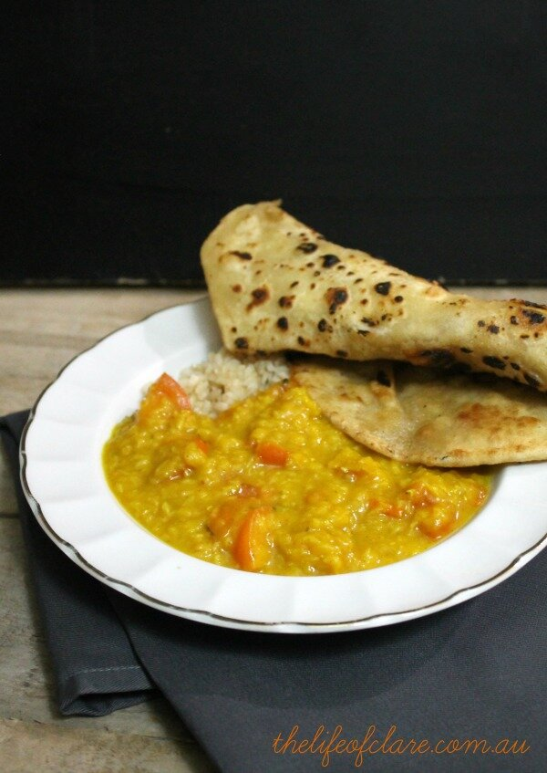 dahl and chapati