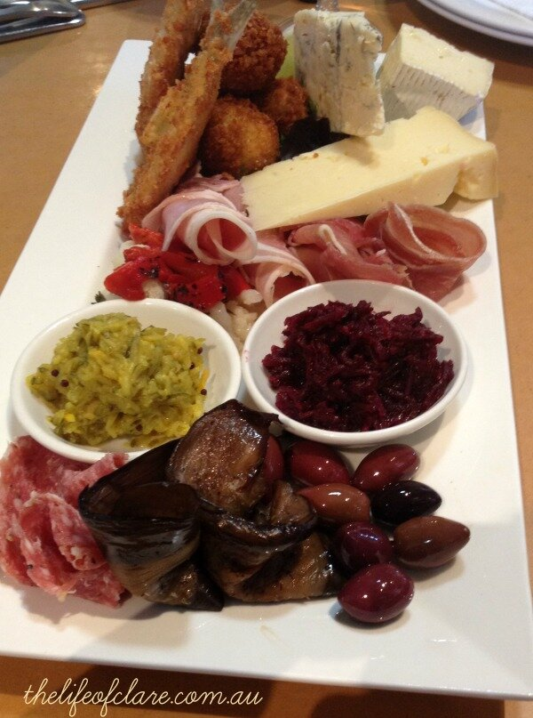 Milawa Cheese Factory Tasting Plate