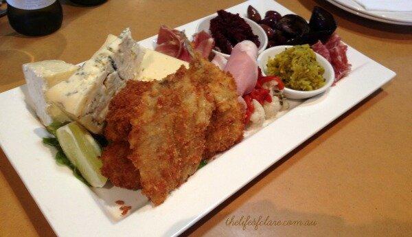 Milawa tasting plate