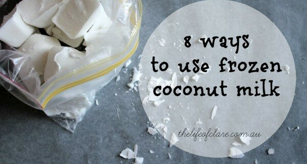 8 ways to use coconut milk