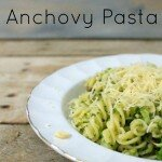 Broccoli and Anchovy Pasta