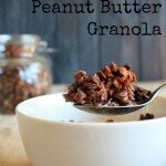 Cacao and Peanut Butter Granola