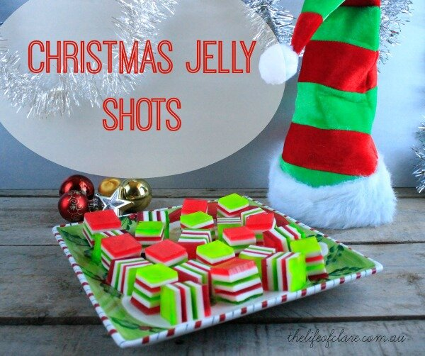 Christmas Jelly Shots