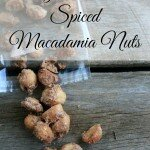 sugar crusted spiced macadamia nuts