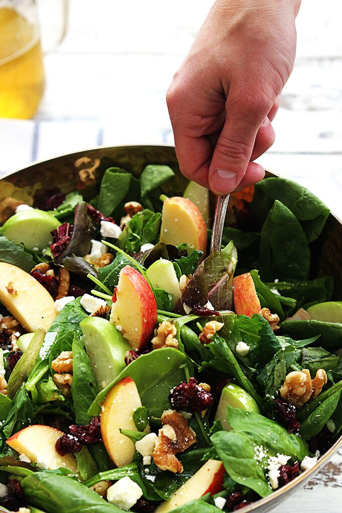 apple-cranberry-walnut-salad-6