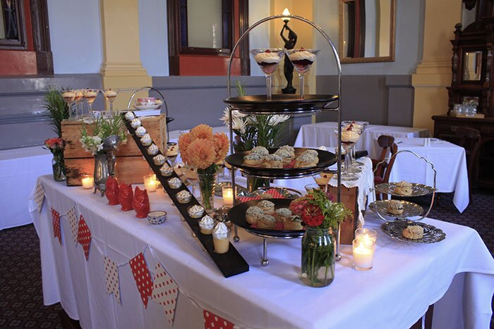 dessert table Vue Grand