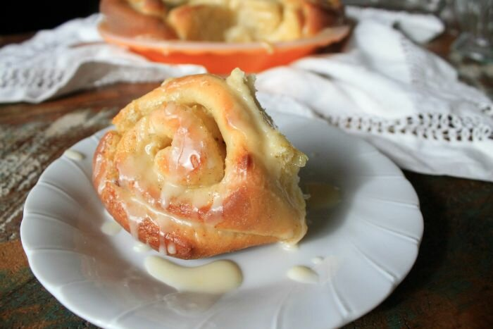 Sweet Lemon Scrolls
