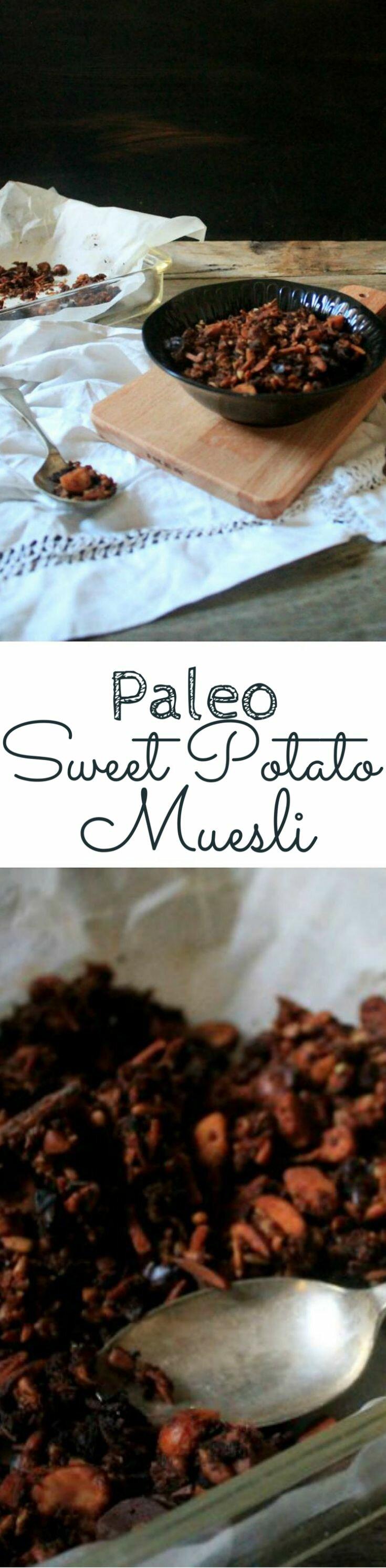 Paleo Sweet Potato Muesli