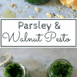 Parsley And Walnut Pesto Pinterest