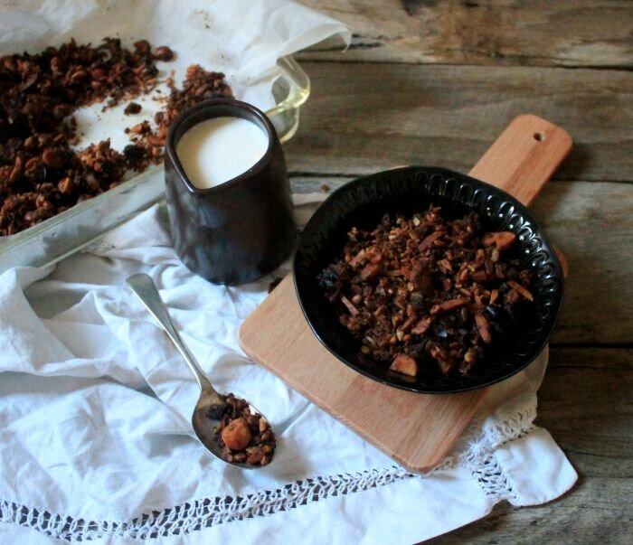 Paleo Muesli with Sweet Potato