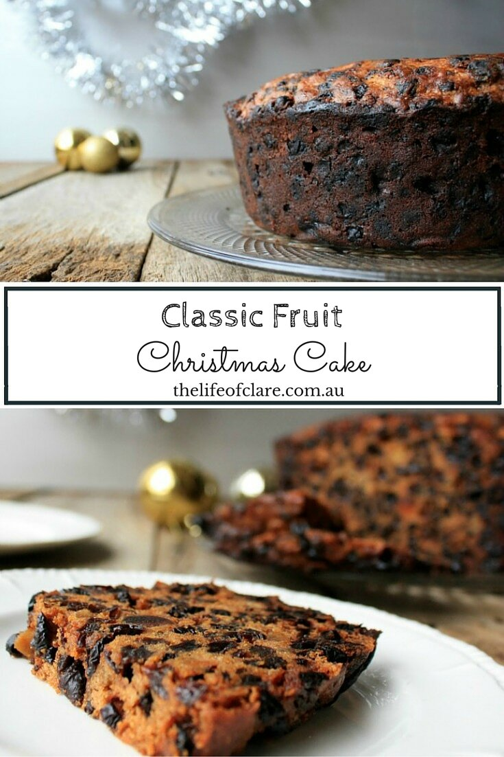 Delicious Class Fruit Christmas Cake