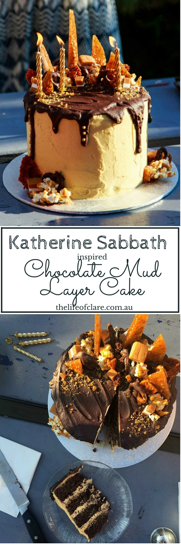 Katherine Sabbath Inspired Chocolate Cake