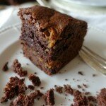 brownie dulce de leche