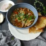 chicken and risoni soup