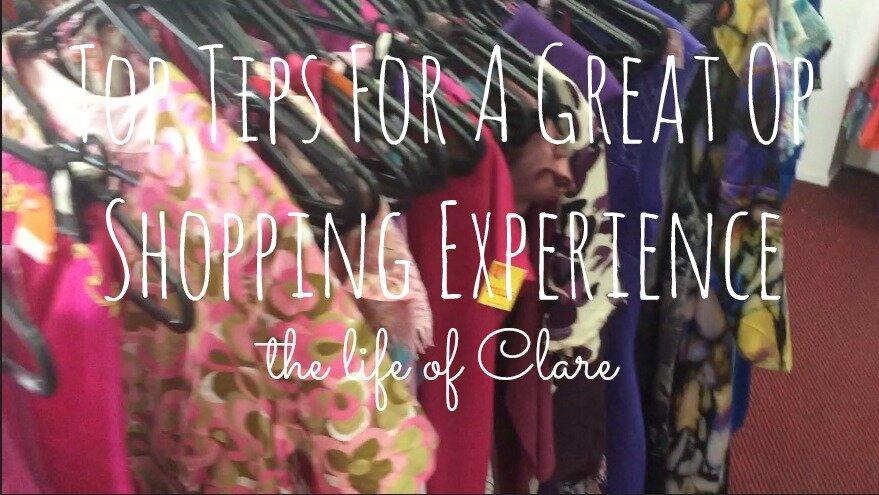 6 Top Tips of Op Shopping Success