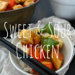 Sweet and sour chicken feature image