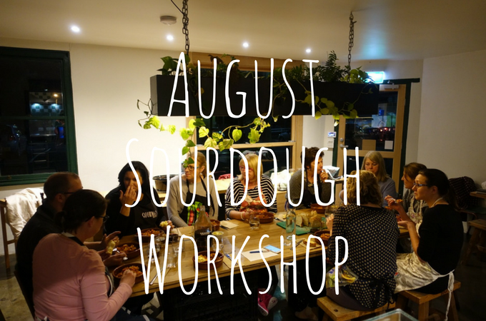 August Sourdough Workshop In Less Than One Minute