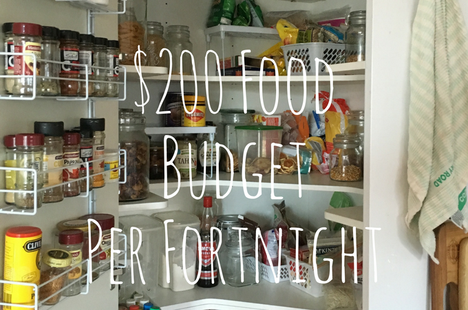 Sticking To Our $200 per Fortnight Food Budget