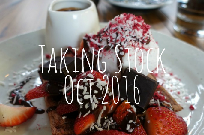 Taking Stock October 2016