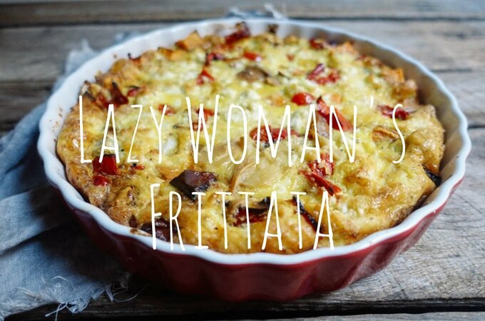Lazy Lady's Frittata