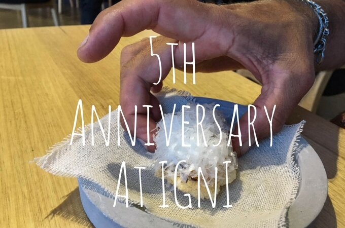 5th Wedding Anniversary at INGI