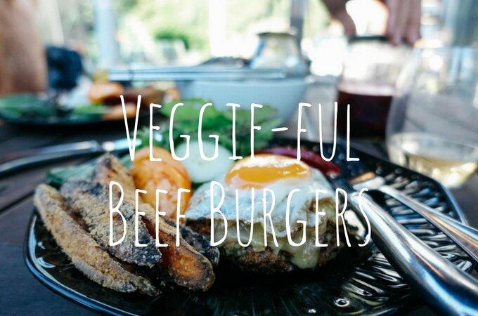 Veggie-Full Beef Burgers